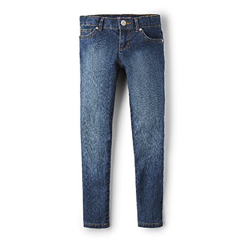 The Children's Place Big Girls' Super Skinny Jean, Victory Blue, 8