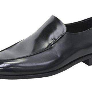 Hugo Boss Men's Dressapp_Loaf_bo Black Leather Loafers Shoes Sz: 9.5