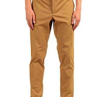 "Gucci ""Riding Men's Beige Stretch Casual Pants US 36 IT 52"