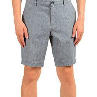 Hugo Boss Crigan-Short-W Men's Linen Casual Shorts US S IT 48