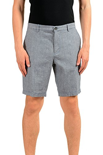 Hugo Boss Crigan-Short-W Men's Linen Casual Shorts US S IT 48