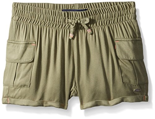 Tommy Hilfiger Big Girls' Rayon Challis Short, Sagier Green, 16