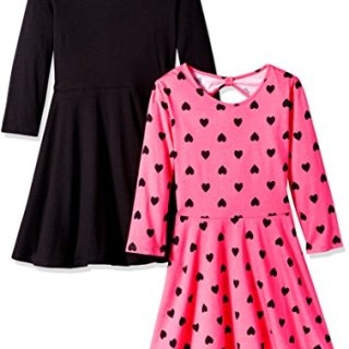 The Children's Place Big Girls' Casual Dresses (Pack of 2)
