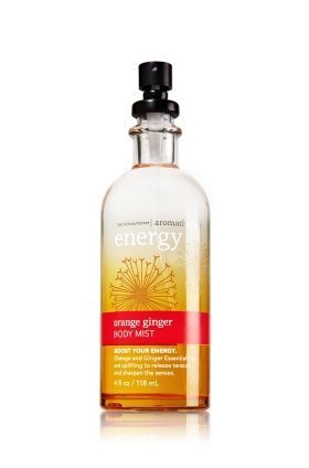 Bath and Body Works Orange Ginger Essential Oil Body Mist Energy Aromatherapy