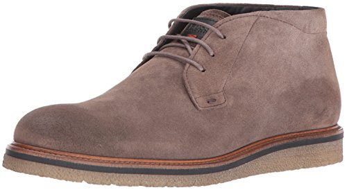 Hugo Boss BOSS Orange by Men's Tuned Desb Work Boot, Dark Beige, 42 EU/9-9.5 M US