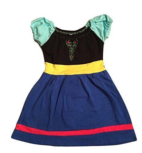 L C Boutique Girls Cotton Play Dress Princess