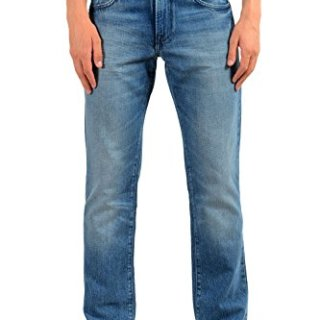 "Hugo Boss ""Orange24 Barcelona Men's Blue Straight Leg Jeans US 32/32 IT 32/32"