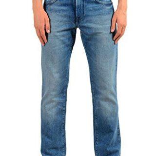 """Hugo Boss """"Orange24 Barcelona Men's Blue Straight Leg Jeans US 32/32 IT 32/32"""