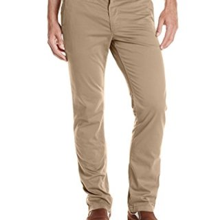 BOSS Orange Men's Shino-Regular1-D Stretch Satin Cotton Trouser, Light/Pastel Brown, 32