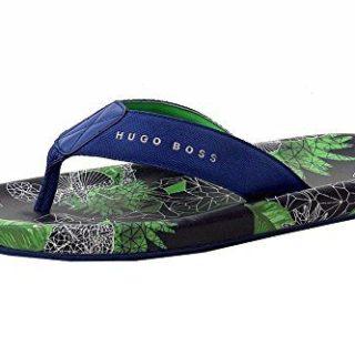 Hugo Boss Men's Shoreline Sunshine Open Misc. Flip Flops Sandals Shoes Sz: 6/7
