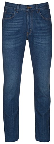 Gucci Men's Blue Cotton Denim Slim Jeans Pants, Blue, 36