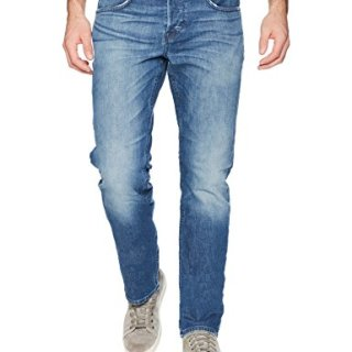 Hudson Jeans Men's Byron Straight Leg Jeans, Cruise, 33