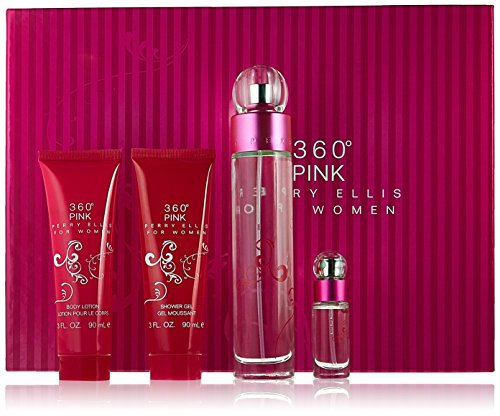 Perry Ellis 360 Pink for Women Gift Set