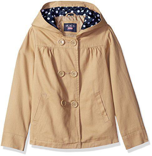 The Children's Place Little Girls' Uniform Trench Coat