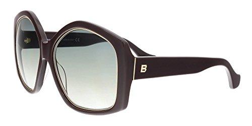 Balenciaga Women's Shiny Violet Fashion Sunglasses 55mm