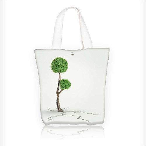 Women's Canvas Tote Handbags tree breaks free freedom
