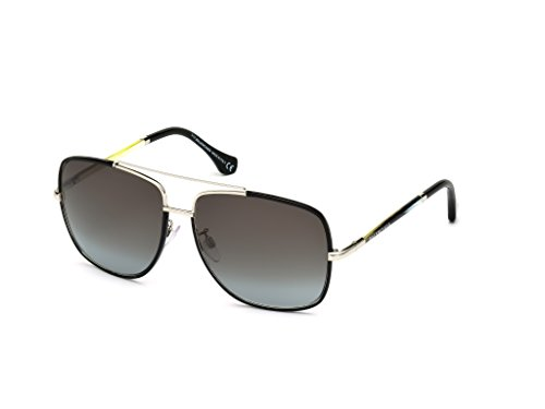 Sunglasses Balenciaga BA shiny black / gradient smoke