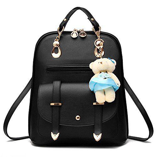 BAG WIZARD OASD Women's Backpack Leather, Multi Way Girls School