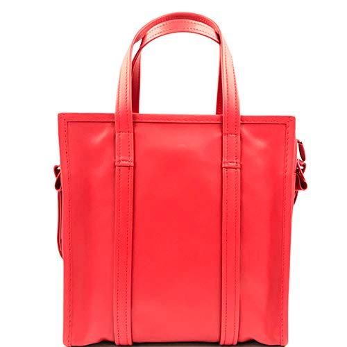 Balenciaga Bazar Shopper Small Size Red Leather Ladies Messanger Bag