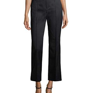 Balenciaga Womens Solid Buttoned Trousers, 36