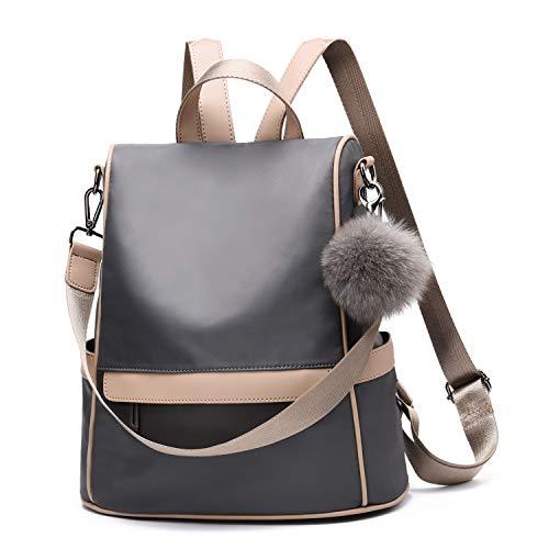Women Backpack Purse Nylon Anti-theft Fashion Casual Lightweight Travel