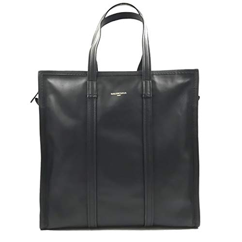 Balenciaga Bazar Shopper Medium Size Black Leather Ladies Tote Bag