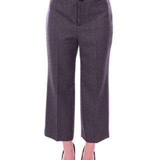 Balenciaga Women's Grey Wool Pants