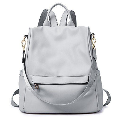 Womens Backpacks Purse Fashion PU Leather Anti-theft Large Travel Bag