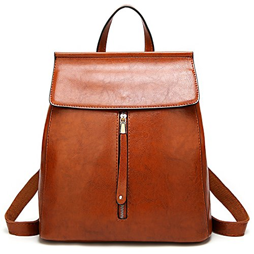ELOMBR Women Backpack Purse Casual Shoulder Bag