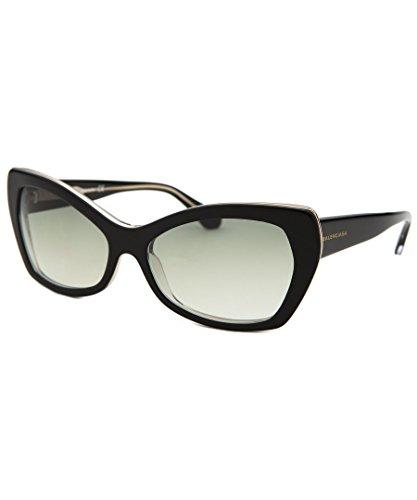 Balenciaga Butterfly Sunglasses Black/Gold
