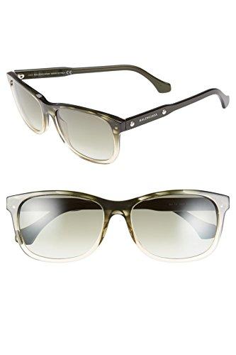 New Authentic Balenciaga Green/Yellow Women's Sunglasses