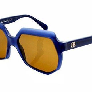 Balenciaga Sunglasses 0105/S Blue Ruthenium Shades