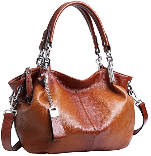 Heshe Womens Leather Handbags Ladies Designer Purse