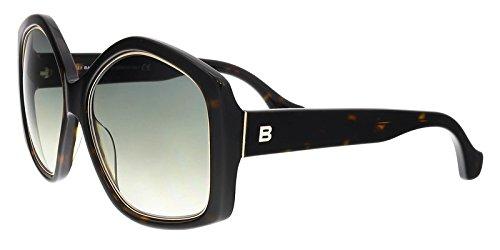 Balenciaga Women's Dark Havana Fashion Sunglasses 55mm