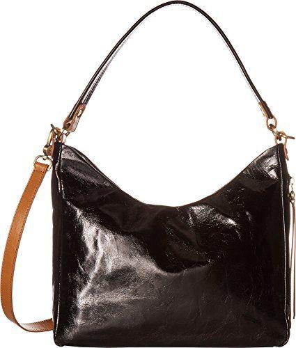 Hobo Women's Leather Delilah Convertible Shoulder Bag (Black)
