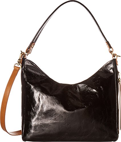 Hobo Women's Leather Delilah Convertible Shoulder Bag (Black)