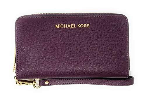Michael Kors Women's Jet Set Travel Large Multifunction Smartphone Wristlet