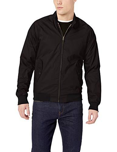 Ben Sherman Men's Harrington Jacket, Black, Small