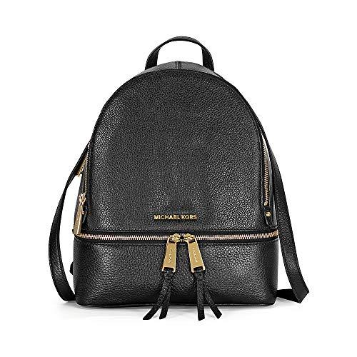 Michael Kors Rhea Zip Medium Leather Backpack