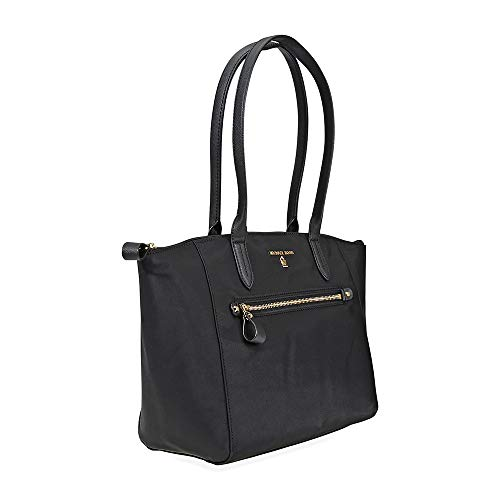 MICHAEL Michael Kors Kelsey Medium Top-Zip Tote (Black)
