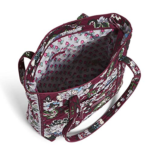 Vera Bradley Iconic Small Vera Tote, Signature Cotton, One Size