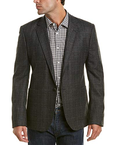 Billy Reid Mens Greer Wool & Cashmere-Blend Sportcoat, 40R, Grey