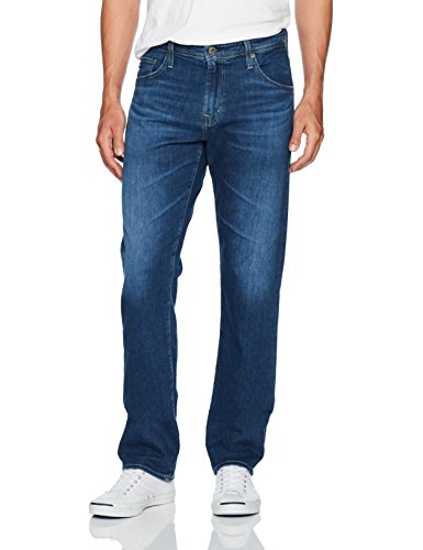 AG Adriano Goldschmied Men's Ives Straight Leg Serinity Denim, Stately, 32