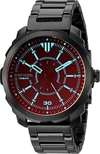 Diesel Men's DZ1737 Machinus Black IP Watch