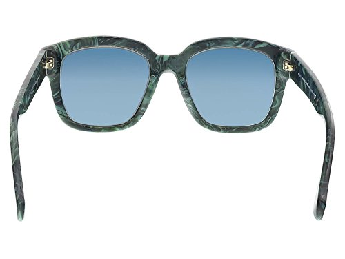 f64fe8010a027 Balenciaga BA50 BA/50 81B Marble Green Fashion Sunglasses 52mm