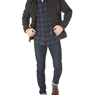 Ben Sherman Men's Fashion Outerwear Jacket, Black, L