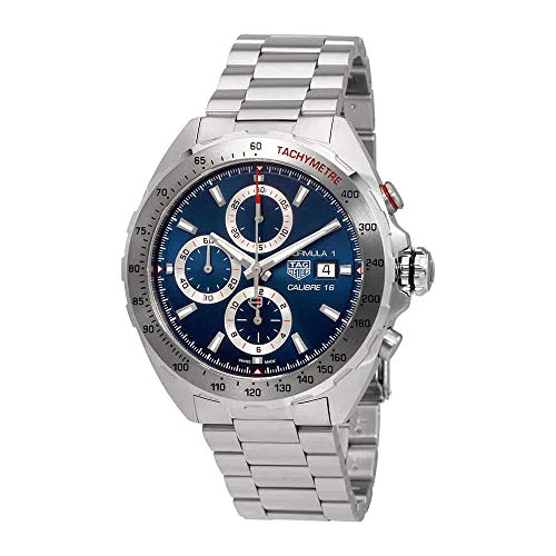 TAG Heuer Formula 1 Blue Dial Calibre 16 Chronograph Men's Watch