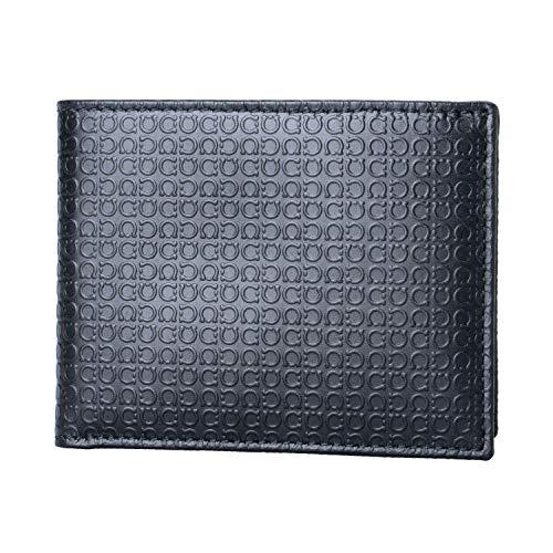 Salvatore Ferragamo 100% Leather Black Women's Bifold Wallet