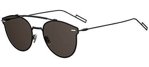 Dior Homme Pressure Black Pressure Round Sunglasses Lens
