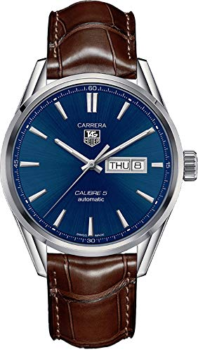 TAG Heuer Carrera Calibre 5 Day-Date Automatic Watch 41 mm Men's Watch